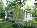 Kirkwood Avenue West 819 outbuilding, Bloomington West Side HD.jpg