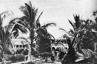 Marcel Lihau - Jesuit mission in Kisantu, where Lihau received some of his tertiary education