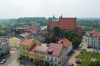 Koło - Stare Miasto z ratusza.jpg