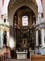 Kościół, ob. par. pw. św. Jana Ewangelisty, 2 poł. XI, XIII-XVI-XVIII wnętrze (7).JPG