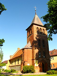 Mierzeszyn Village in Pomeranian Voivodeship, Poland