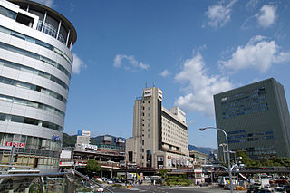 railway station and metro station in Kobe, Hyogo prefecture, Japan