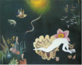 KogaHarue-1933-Scene in the Deep Sea.png