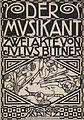 Kolo Moser - Der Musikant - 1909.jpeg