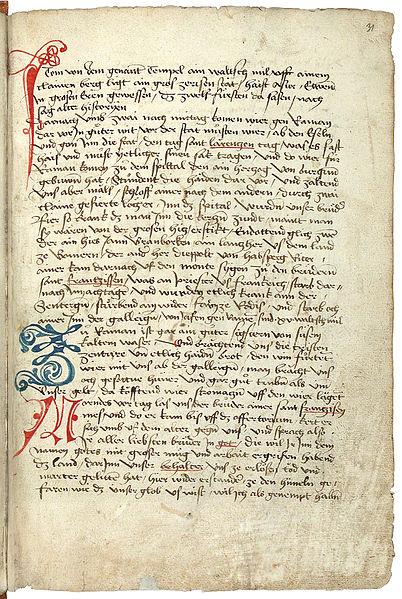 File:Konrad von Grünenberg - Beschreibung der Reise von Konstanz nach Jerusalem - Blatt 31r - 067.jpg
