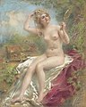 Konstantin Makovsky - Seated Nude Looking in a Mirror.jpg