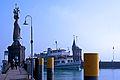 Konstanz - Fahrgastschiff Baden in der Hafeneinfahrt (9501504377).jpg