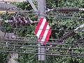 Korea Railway DC-AC Deadsection sign.JPG
