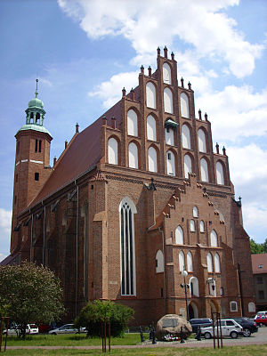 Żary - Roman Catholic Church under the invocation of the Holiest Heart of Jesus (Protestant-Lutheran from 1524-1945)