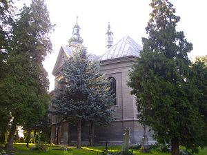 Czechowice-Dziedzice - Image: Kosciol parafialny pw sw Katarzyny