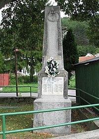 Kostolne Mitice Pamatnik vojakom z prvej svetovej vojny.jpg