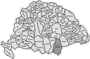 Krassó-Szörény County - Image: Krasso szoreny
