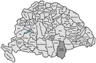 Krassó-Szörény County county of the Kingdom of Hungary