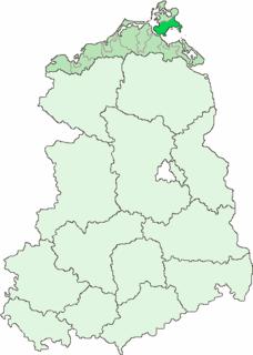 Kreis Putbus rural district of East Germany
