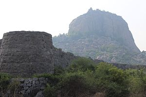 Gingee - Krishnagiri Fort Hill