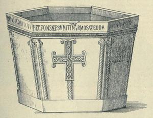 Višeslav of Croatia - Baptismal font of Višeslav