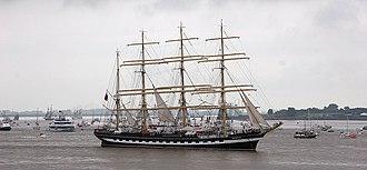 Kruzenshtern (ship) - At Sail Bremerhaven 2005.