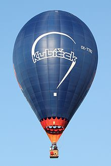 Photograph of a Kubicek balloon