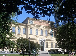 Humlegården park in Östermalm, central Stockholm, Sweden