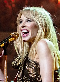 Kylie Minogue Australian-British singer, recording artist, songwriter and actress