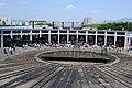 Kyoto railway museum Steam Locomotive depot.JPG