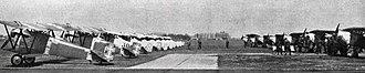 Lithuanian Air Force - Lithuanian Air Force aircraft at Zokniai in 1937