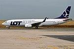 LOT, SP-LWB, Boeing 737-89P (30334972077).jpg