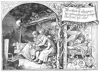 Der Mond ist aufgegangen poem by Matthias Claudius
