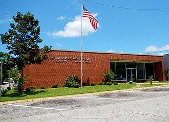 LaFayette, Alabama - Image: La Fayette, AL Post Office (36862)