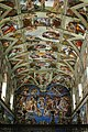 La Cappella Sistina ( Michelangelo Buonarroti 1508-1541 ) - panoramio.jpg