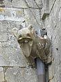 La Guerche-de-Bretagne (35) Basilique Collatéral sud Détail sculpté 02.JPG