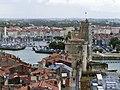 La Rochelle, Tour de la Chaîne et Tour Saint-Nicolas - panoramio.jpg