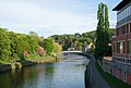 La Sambre in Namur viewed from Quai de l'Abbaye (DSCF5606).jpg