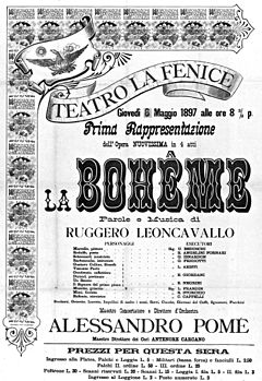 La bohème by Leoncavallo - poster for the 1897 premiere.jpg