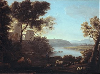 Claude Lorrain - The Roman Campagna (1639), Metropolitan Museum of Art
