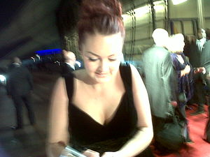 Lacey Turner - Turner at the 2011 National Television Awards.
