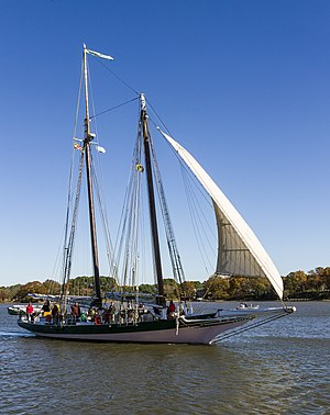 Pungy - The Lady Maryland pungy schooner