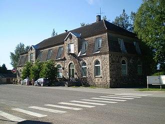 Laekvere - Image: Laekvere ärihoone, 2010, regnr 15702