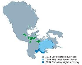 Evolución del lago
