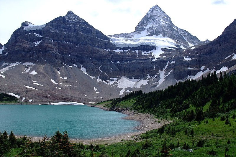File:Lake Magog Mount Assiniboine.jpg