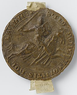 Floris V, Count of Holland 13th-century Count of Holland