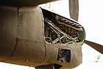 Lancaster FM136 left outer engine at Aero Space Museum of Calgary Flickr 6201757273.jpg