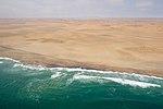 Langstrand, Coastal Road through Dunes between Walvis Bay and Swakopmund (37763266321).jpg