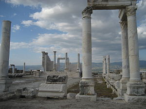 "Laodicea on the Lycus - Temple ""A"""