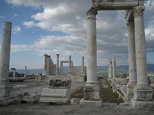 "Laodicea on the Lycus - Temple ""A"""