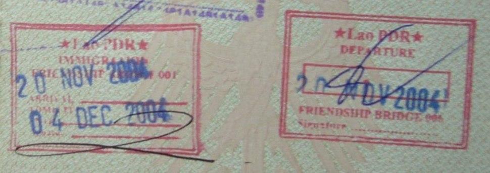 Laos.Visa