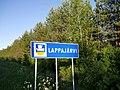 Lappajärvi municipal border sign 2017.jpg