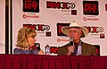 Larry Hagman and Barbara Eden at the 2011 Fan Expo Canada (6129749594).jpg