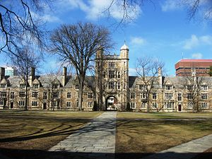 University of Michigan Law School - Image: Law Quad 2009