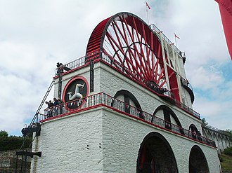 Laxey - The Laxey Wheel